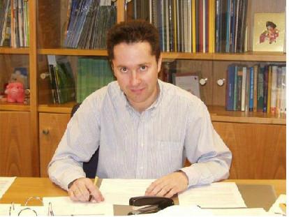 El professor Cirac al Institut Max Planck d'Òptica Quàntica a Garching, Alemanya