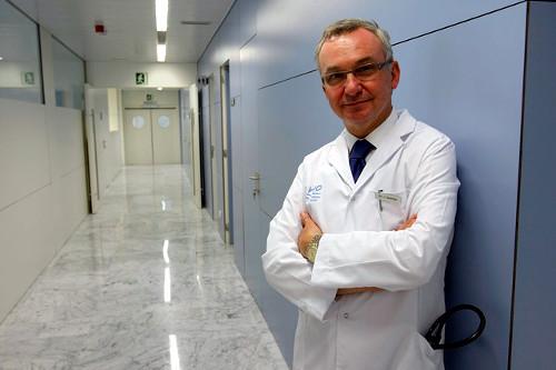 Dr. Baselga a l'hospital Vall d'Hebron de Barcelona (5)