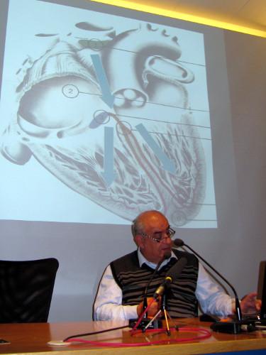 Josep Brugada a Tardes de Ciència, Astrobanyoles. 11.12.2010. Foto de Joan Anton Abellan.