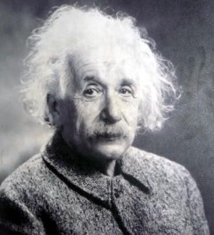 Albert Einstein. Science Museum London. Foto JL. Diez.
