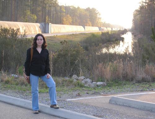 La Dra. Sintes a l'Observatory LIGO, Livingston. Imatge de (1)
