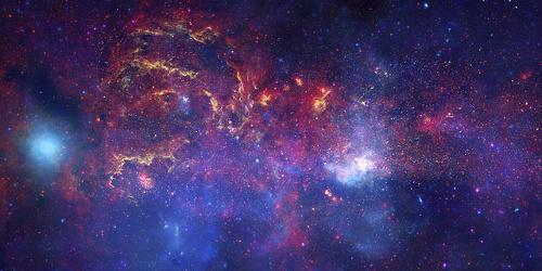 Centre de la Via Làctia. Imatge NASA/JPL-Caltech/ESA/CXC/STScI http://photojournal.jpl.nasa.gov/catalog/PIA12348