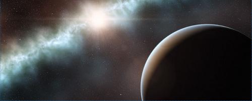 Impressió artística del disc al voltant de l'estrella T-Cha. Imatge ESO (7)