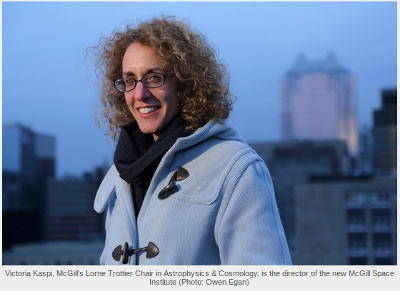 Victoria Kaspi. Imatge de http://publications.mcgill.ca/mcgillnews/2015/11/18/ready-to-tackle-the-cosmos/